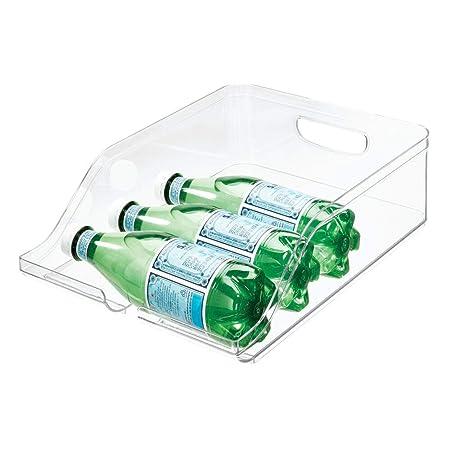 iDesign Guardar frigorífico, Caja de plástico Libre de BPA ...
