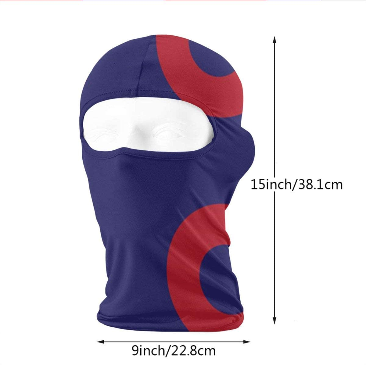 CAClifestyle Phish Circles Unisex Windproof Balaclavas Full Face Mask Hood
