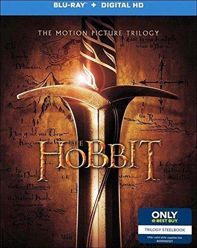 The Hobbit Trilogy Exclusive Steelbook [Blu-ray, Digital Ultra Violet Copy]