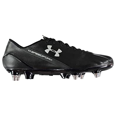 6067c566b Under Armour Speedform Hybrid Soft Ground Football Boots Mens Black Soccer  Cleat  Amazon.co.uk  Shoes   Bags
