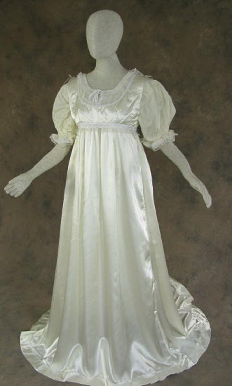 Amazon.com: Regency Jane Austen Style Ball Gown Costume (2/2): Clothing