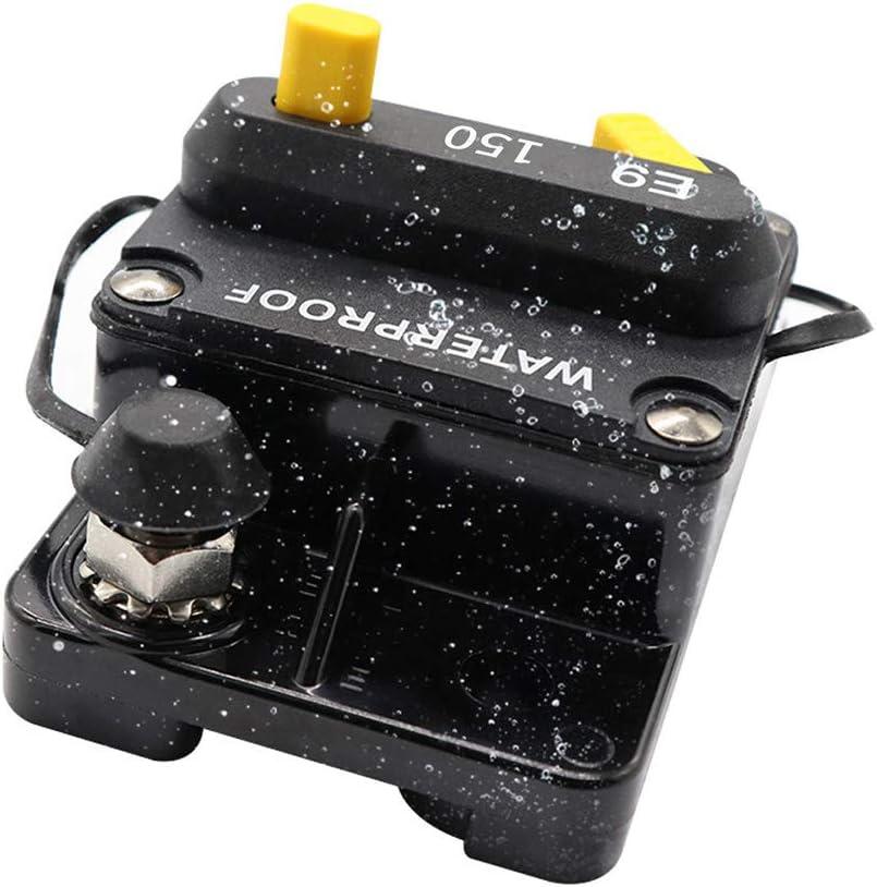 /Überstrom 150 A /Überlastschutz FairOnly Auto-Schutzschalter Zubeh/ör manuelles Zur/ücksetzen mit Schalter