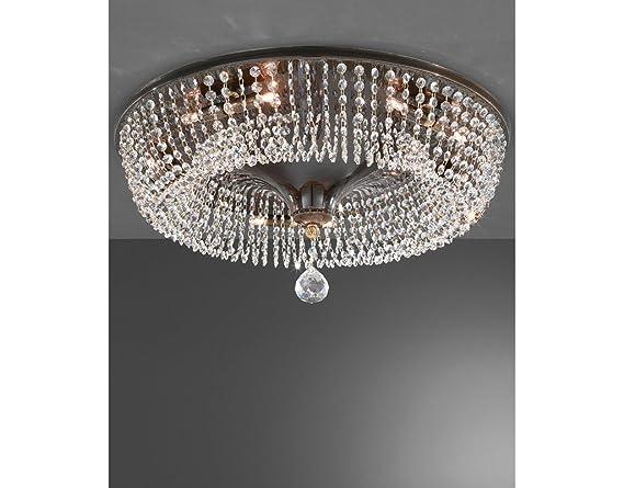 Plafoniere Con Lampadina A Vista : La lampada cono di cristallo plafoniera a soffitto