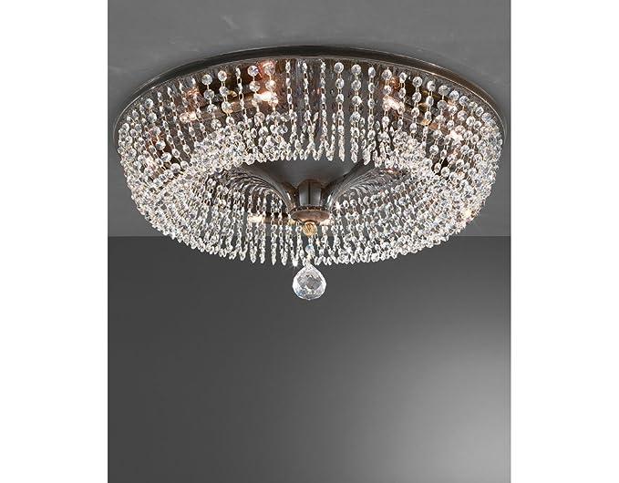 Plafoniere Moderne Con Cristalli : La lampada cono di cristallo plafoniera a soffitto