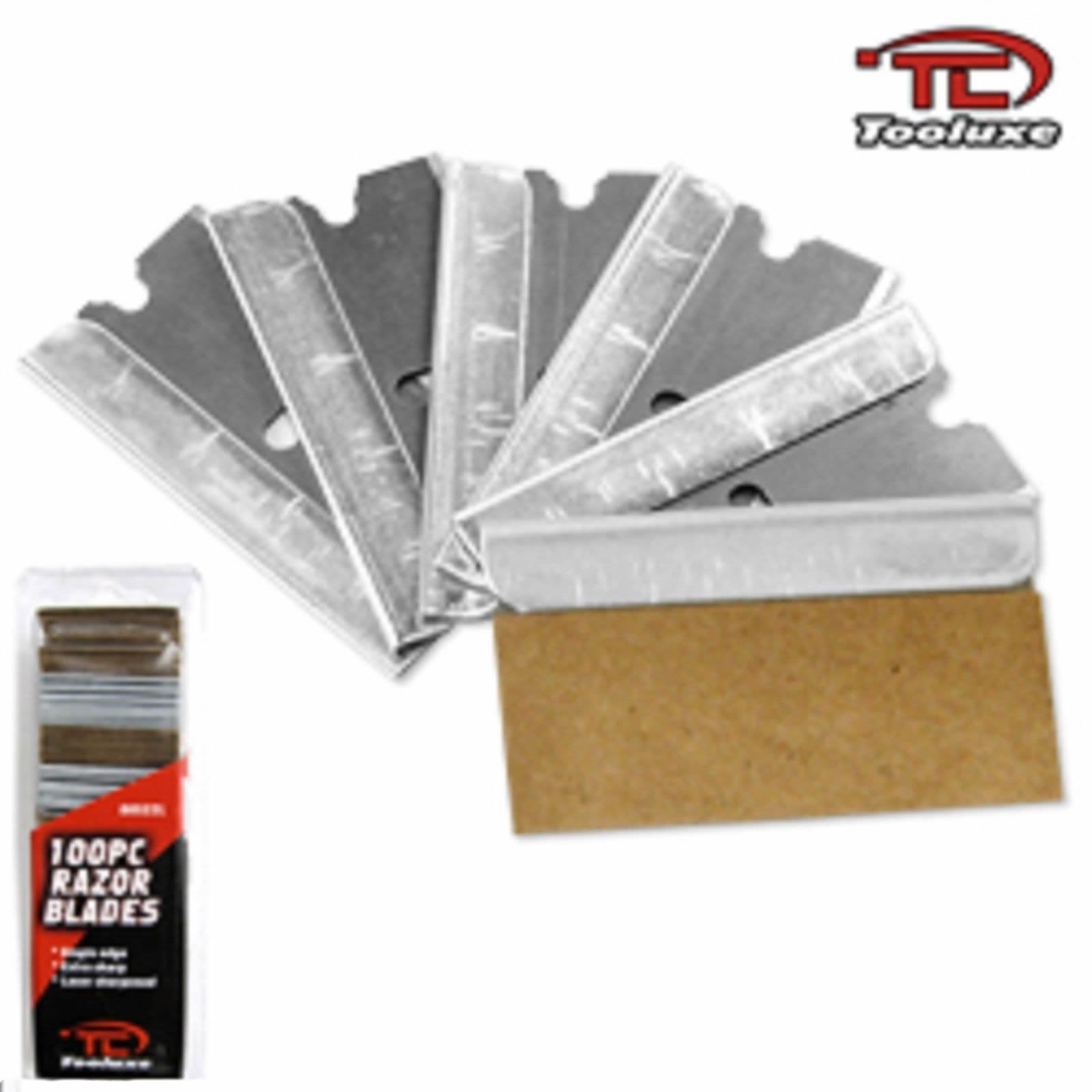 1;000 Piece Razor Blades 1000 Single Edge Cutters 10 New Packs of 100 Wholesale