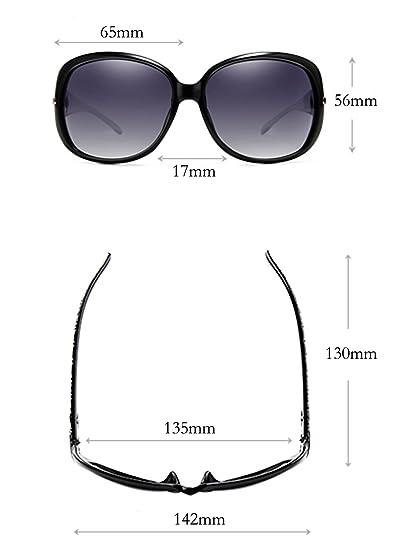Women Polarized Fashion Plaid Oversized Sunglasses