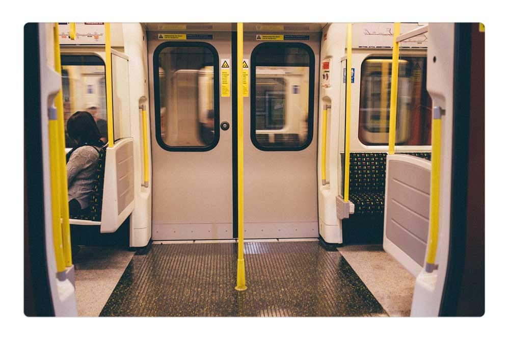 Amazon.com : Indoor Floor Rug/Mat (23.6 X 15.7 Inch)   Subway Metro Doors  Transportation Travel Urban : Garden U0026 Outdoor