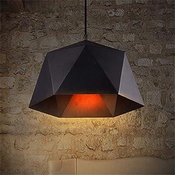 Retro Lámpara de Araña Colgante Luz Loft Vintage Irregular ...