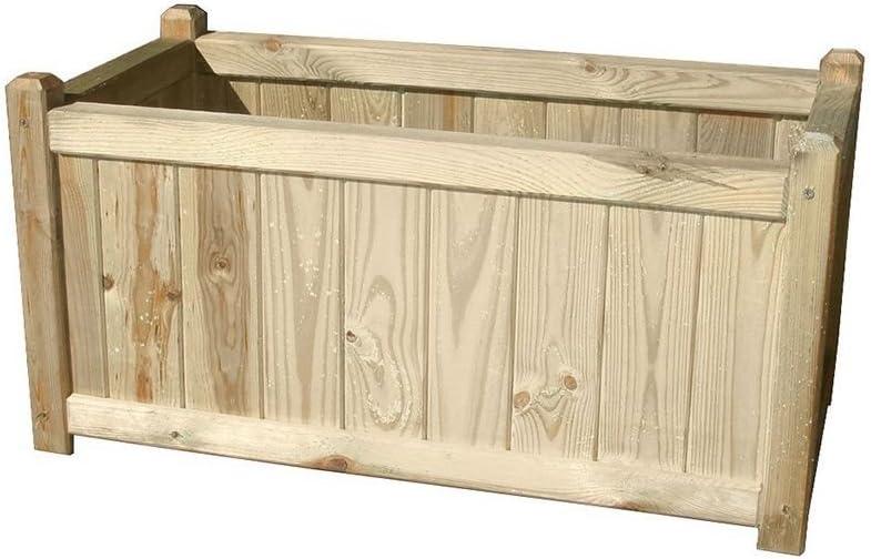 PAPILLON 8043035 Panel Celosia Madera con Jardinera 75x30x180 cm