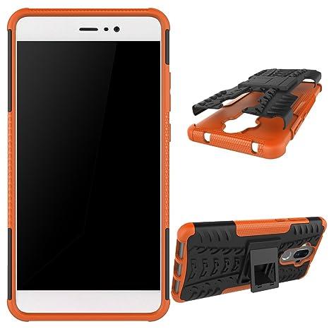 XINYUNEW Funda Huawei Mate 9, 360 Grados Protective+Pantalla de Vidrio Templado Caso Carcasa Case Cover Skin móviles telefonía Carcasas Fundas para ...