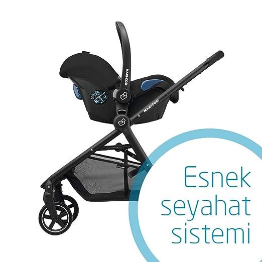 Maxi-Cosi Citi, Silla de coche grupo 0+, negro (Negroraven): Amazon.es: Bebé