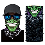 OWMEOT Men Women Headwear, Skull Face Mask, Magic