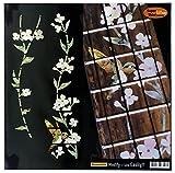 Ukulele - Tenor Fretboard Markers Inlay Sticker Decal Tree of Life w/Hummingbird