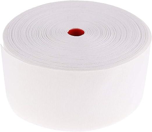 HarmonyHappy Cinta de Costura con Ojales para Cortinas, 50 m, 10 cm de Ancho, Color Blanco, 10 cm: Amazon.es: Hogar