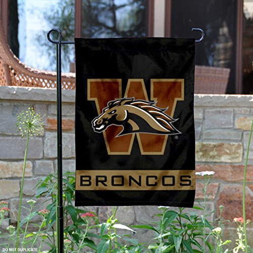 Western Michigan Broncos Garden Flag (Western Michigan Broncos Wall)
