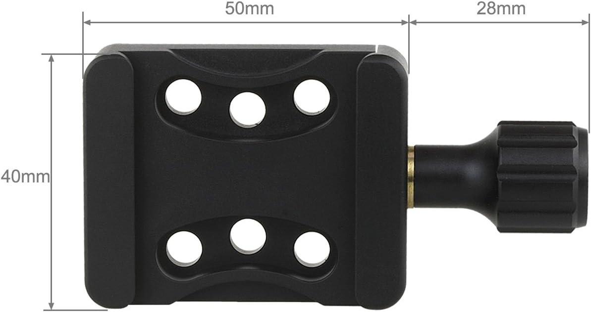 Haoge CP-20 Bouton de vis /à lib/ération Rapide Arca avec Trois Paires de Trous de 20 mm pour syst/ème de Support DIY avec plaques de haoge