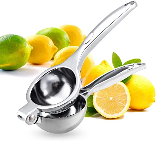 Lemon Lime Squeezer Manual Citrus Kitchen Juicer Stainless Steel Juice Presser