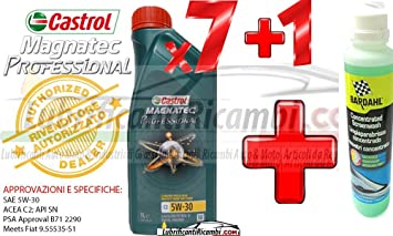 Aceite Motor Coche Castrol MAGNATEC Professional 5 W30/C2 – Fully Synthetic – para motores