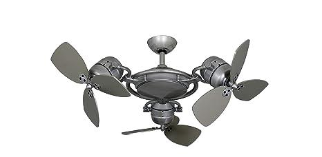 Amazon.com: Tristar II - Ventilador de techo para interiores ...