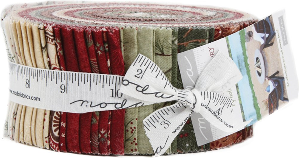 Once Upon A Memory Jelly Roll 40 2.5-inch Strips by Holly Taylor for Moda Fabrics 6730JR