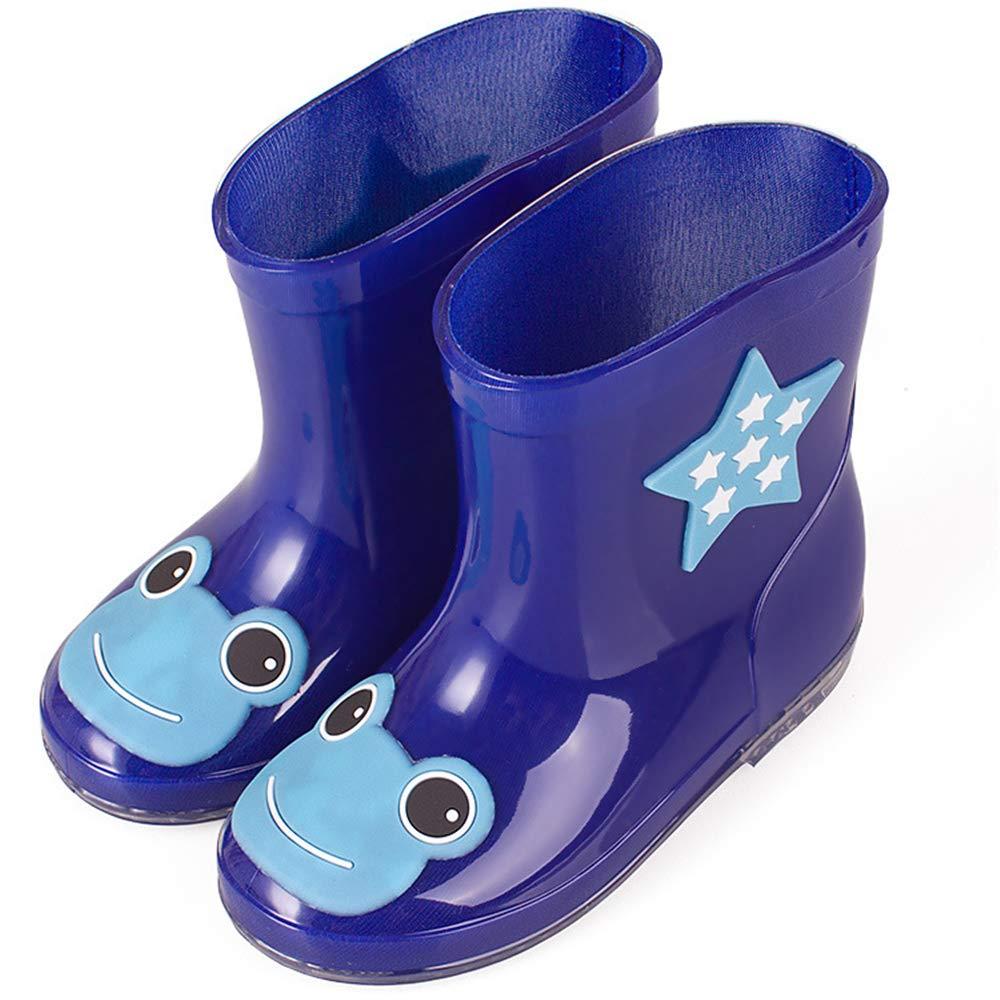 ZX Boots Kids Waterproof Rain Boot Non-Slip