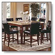 Steve Silver Montibello 7 Piece Counter Height Dining Set