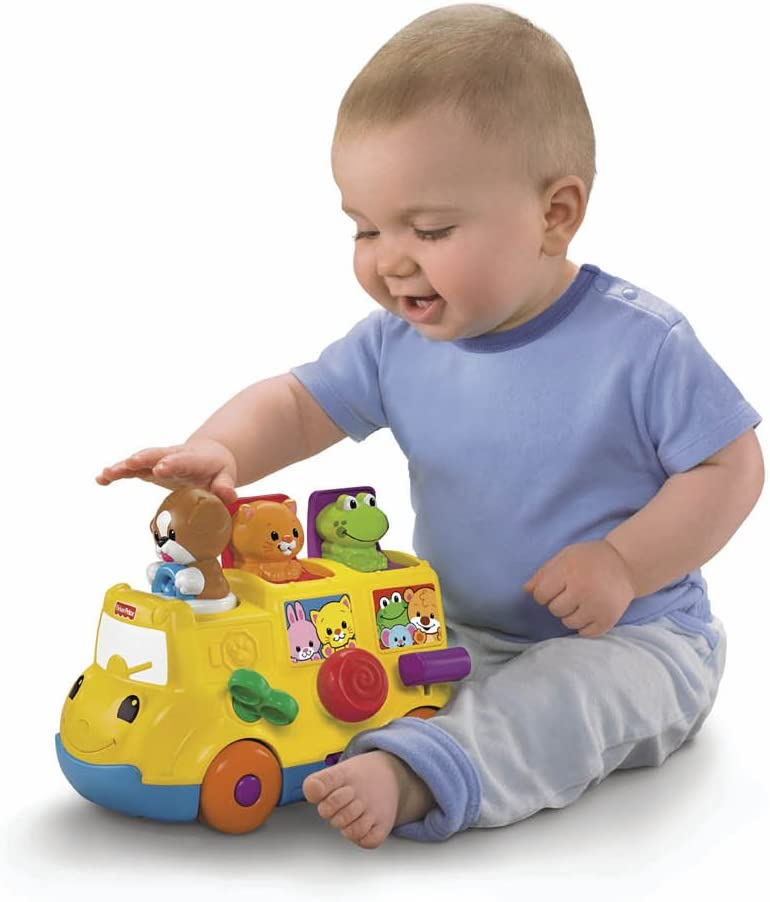 Amazon.com: Fisher-Price musical Pop Up camión: Toys & Games