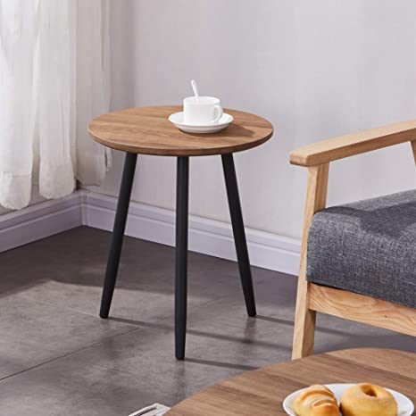 Superb Goldfan Small Round Coffee Side Tables Modern Oak Living Room End Tables Wooden Sofa Small Side Tables For Office Furniture Short Links Chair Design For Home Short Linksinfo