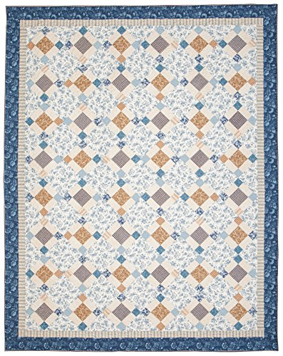Connecting Threads Full/Queen Quilt Kit (Toile De Jouy) by Connecting Threads