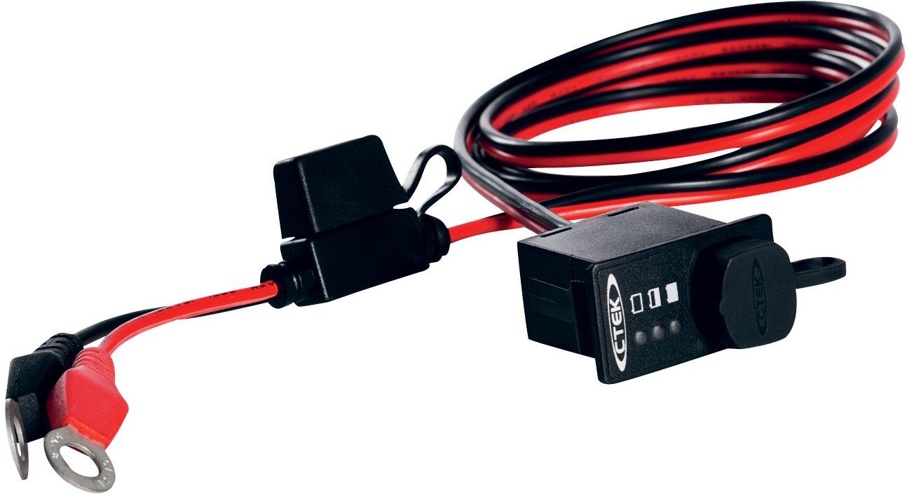 CTEK (56-380) Comfort Indicator Panel M8 for Top Post Batteries KEYU1
