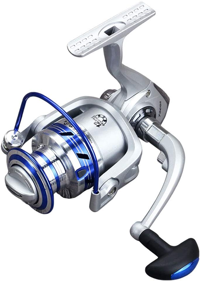 HoSayLike Full Metal Spinning Reel 5.1: 1 12Bb Carretes De Pesca ...
