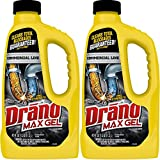 Drano 42 oz Commercial Line Max Gel Clog Remover, 2-Pack
