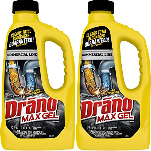 Drano 42 oz Commercial Line Max Gel Clog Remover, ()