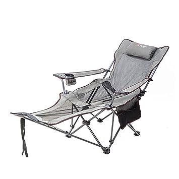 HM&DX Sillas plegables para exteriores Silla de camping ...