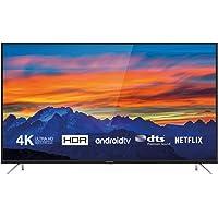 Thomson 55UD6426 Fernseher 139 cm (55 Zoll) Smart TV (4K UHD, HDR, Android TV, Google Home, Google Assistant, DTS Premium Sound) Schwarz