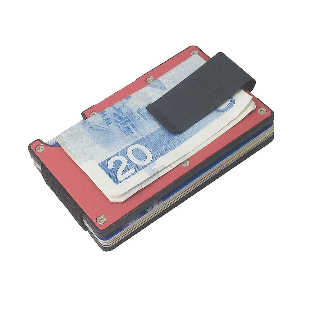 Artmi RFID Wallet Money Clip Aluminum Card Holder for Him JMD020-2