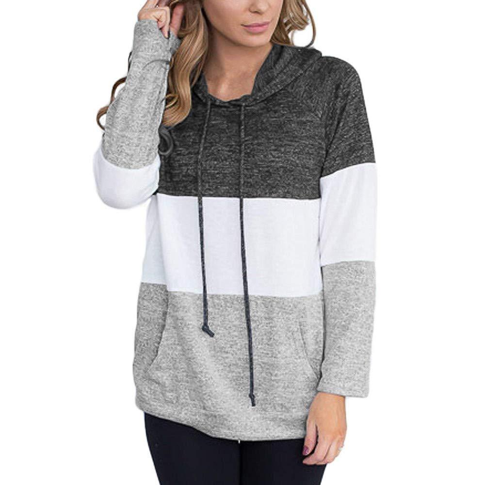 TOPKEAL Lässige Hoodie Pullover Damen Herbst Winter