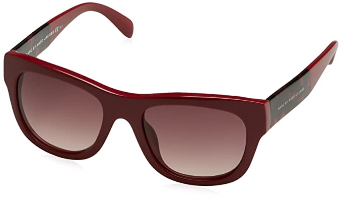 Marc by Marc Jacobs Gafas de Sol Burdeos: Amazon.es: Ropa y ...