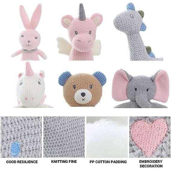 Ysoom Oso de Peluche Cuddle Toys Peluche Conejo Unicornio ...
