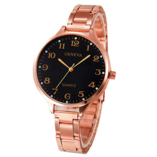 ... Watches for Women DYTA Ladies Bracelet Wrist Watches with Stainless Steel Strap Under 10 on Easy Reader Business Analog Quartz Watches Relojes De Mujer ...