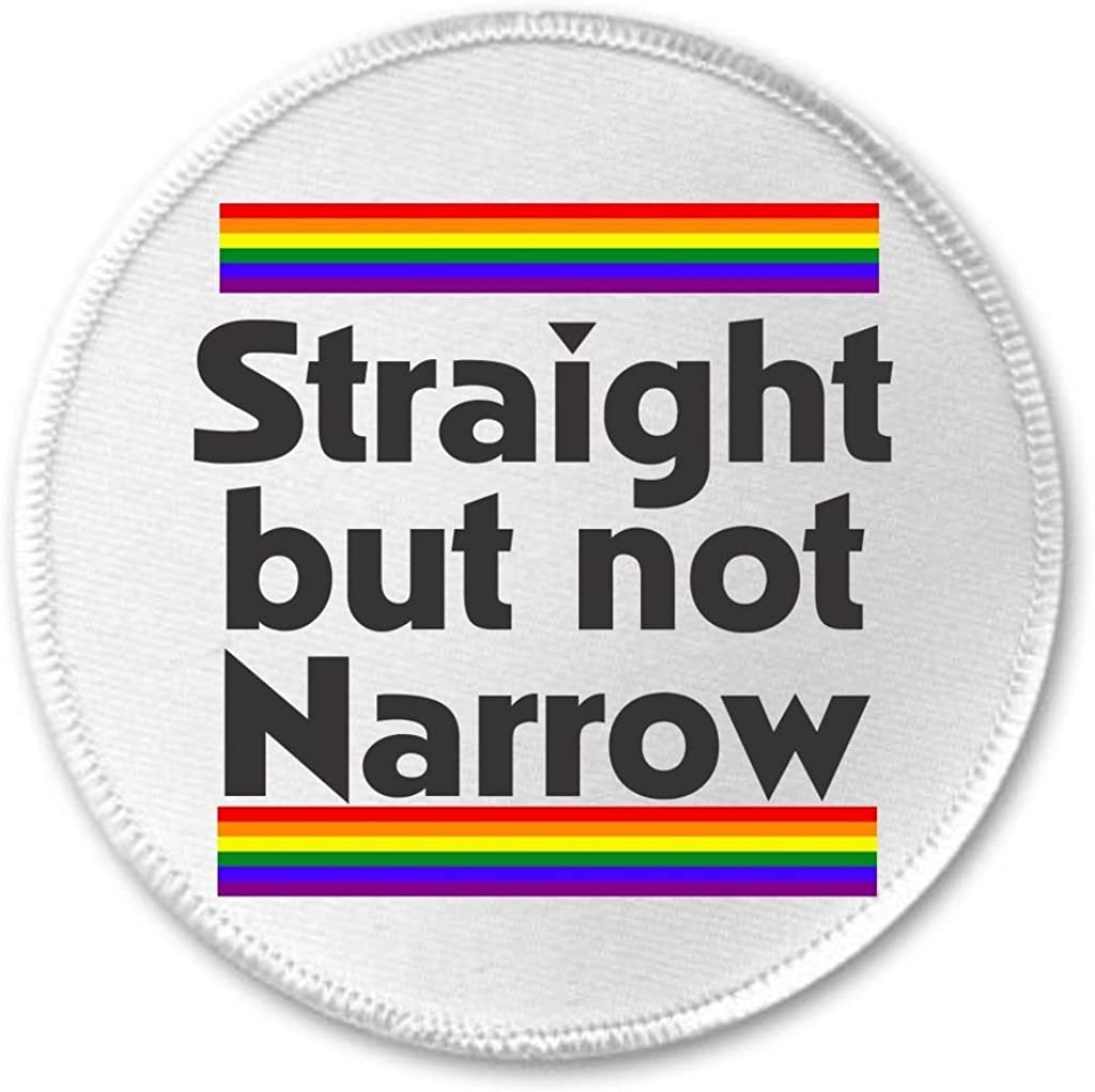 "Less Judgement More Tolerance 3/"" Sew//Iron On Patch Rainbow LGBT Pride LGBTQ"