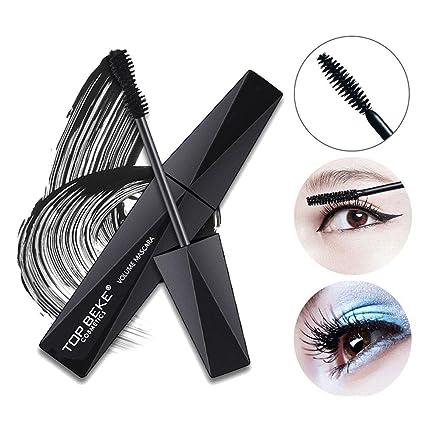 4D Mascara Crema - Leegoal Natural Maquillaje Lash, Impermeable Larga Duración pestañas Crazy Largo Estilo