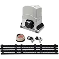 1200KG Sliding Electric Gate Opener Automatic Motor Remote Kit Heavy Duty 4m
