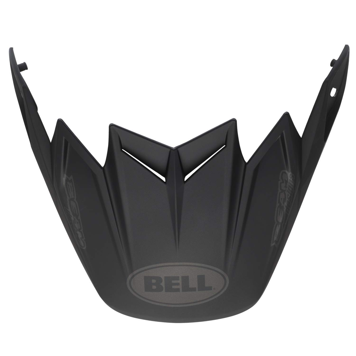 Bell Moto-9 Flex Visor, Syndrome Matte Black