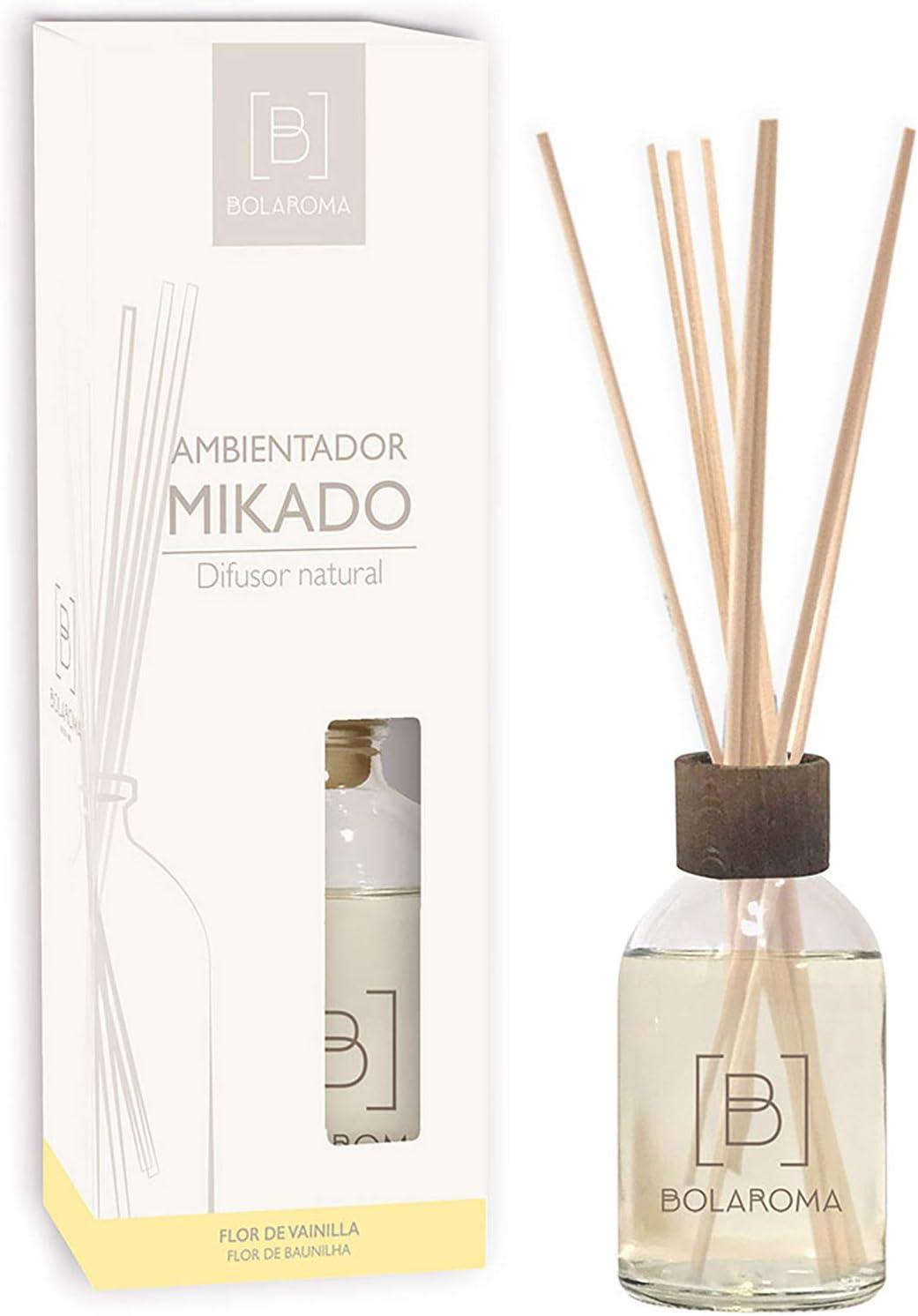 BOLAROMA ambientador Mikado 100 ml Fragancia Flor de Vainilla: Amazon.es: Hogar