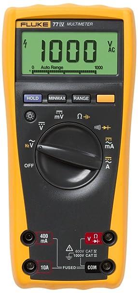 Review Fluke 77-IV Digital Multimeter,