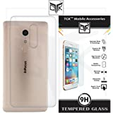 TGK™ Combo for InFocus EPIC 1 (Combo of 1 Back Cover + 1 Tempered Glass) - TGK™ Ultra Clear Thin Protective Soft TPU Back Cover + Premium HD Tempered Glass Screen Protector with Rounded Edges