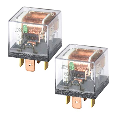Ehdis DC 12V 60A 1NO SPST 4 Pin Relay Car Heavy Duty Split Charge  on