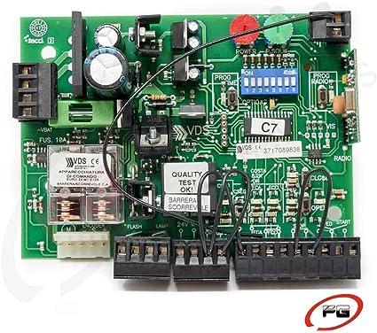 Placa de control EURO 24 M1 24 Vac. Cuadro de control para motores de corredera, basculantes contrapesadas y barreras entre otras aplicaciones.: Amazon.es: Bricolaje y herramientas
