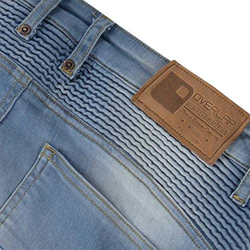 Homologados Ruta Mujer 32 Imola Talla Azul Overlap Jeans CvU7SP7q